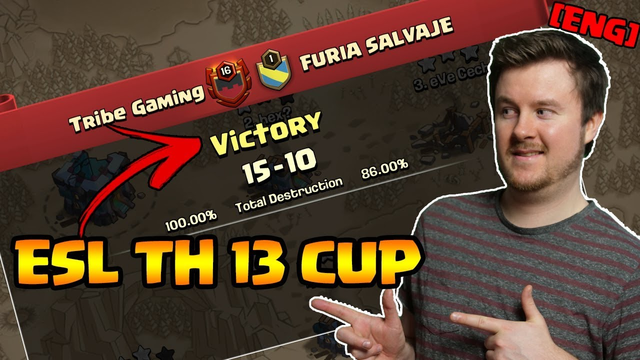 Townhall 13 ESL Cup | MY Attacks in the tournament | Clash of Clans | iTzu [ENG]