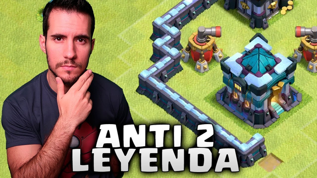 NUEVA ALDEA ANTI 2 para LIGA LEYENDA TH 13 - CLASH OF CLANS TH 13