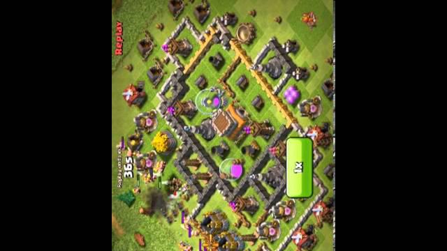 Clash of clans: hidden tesla x3