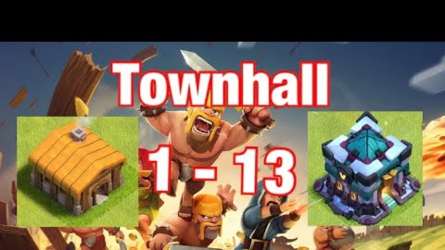 Going From Townhall 1 - 13 New Clash of Clans Series Starting as a beginner #01