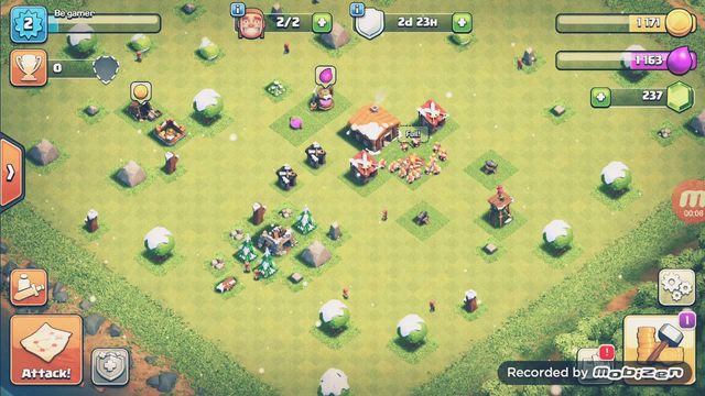 Clash of clans   developing my village   town hall 2   EP-1