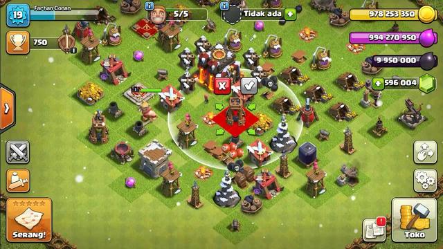 Clash Of Clans Versi Mod Terbaru Th1 sampai th13
