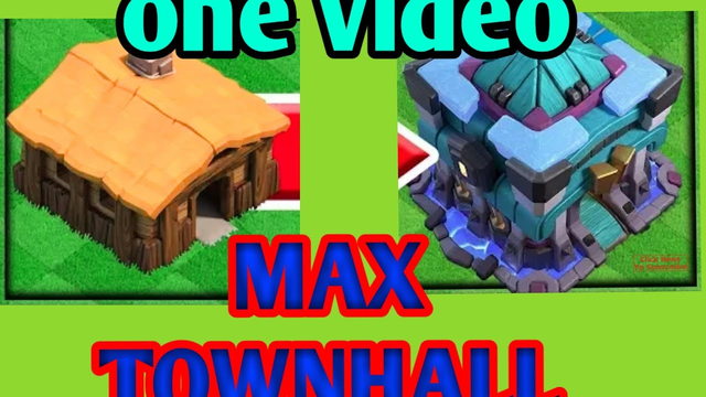 GEM to MAX! Town hall 1 To Town Hall 13 clash of clans l COC Gem rush