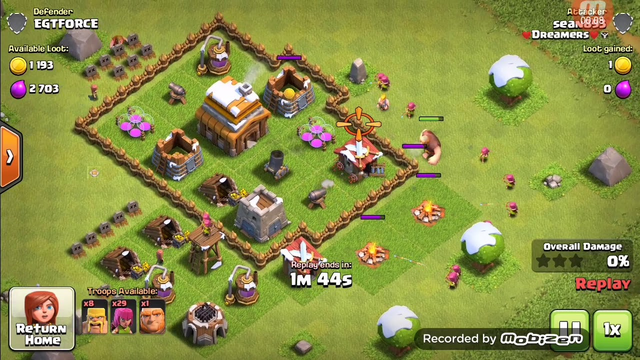 Clash Of Clans: Attack#1
