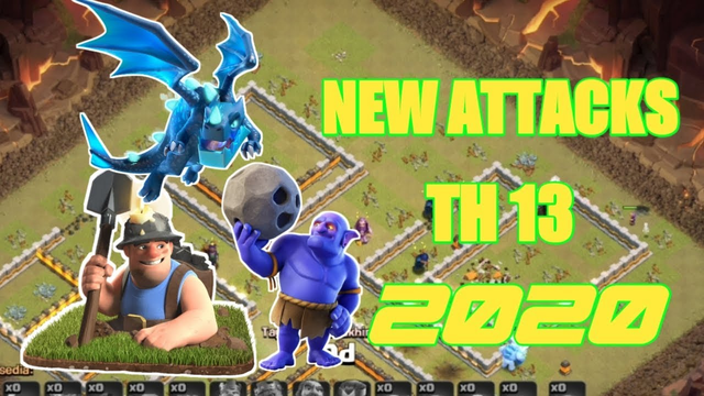 Best Gameplay Th13 New Attacks 2020  | Clash of Clans