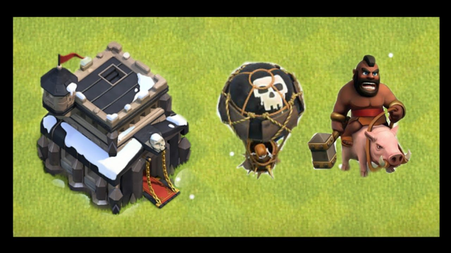 My new statergy in clash of clans