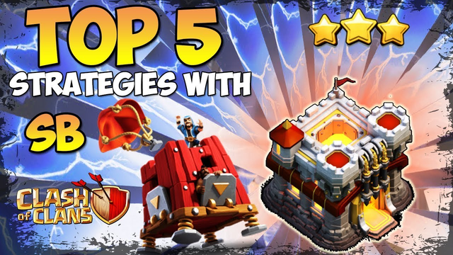 TOP 5 BEST TH11 Attack Strategies for 3 Stars With Siege Barrack Clash of Clans Th11 Best Attack COC