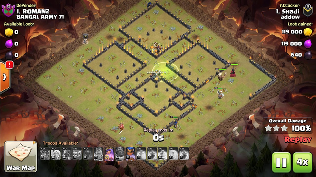 Clash of Clans - TH13  War League YETI Attack Strategy