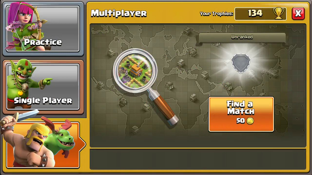 Clash of Clans l Town Hall 2 attack strategy l several attacks.