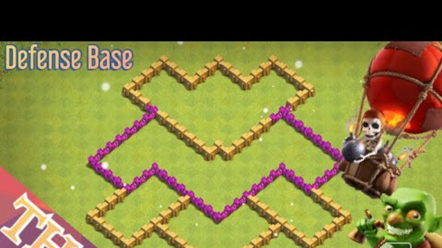 TH6 | DEFENSE BASE | Clash of Clans