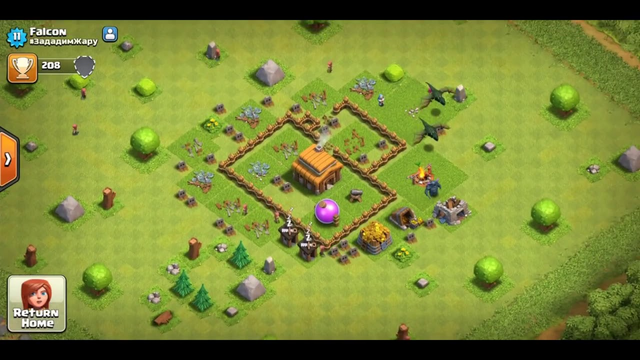 TOWNHALL 3 ELECTRO DRAGONIS THIS POSSIBLE!STRANGE PLAYER  Clash of Clans
