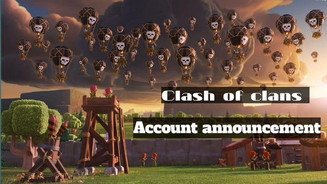 Clash of clans free account Giveaway