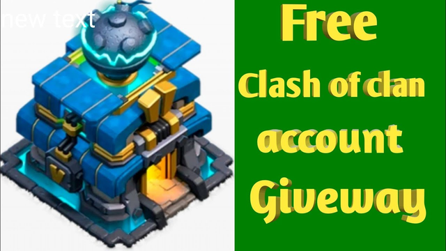 Free clash of clan account giveway.Free coc account.Free th 12 account giveway
