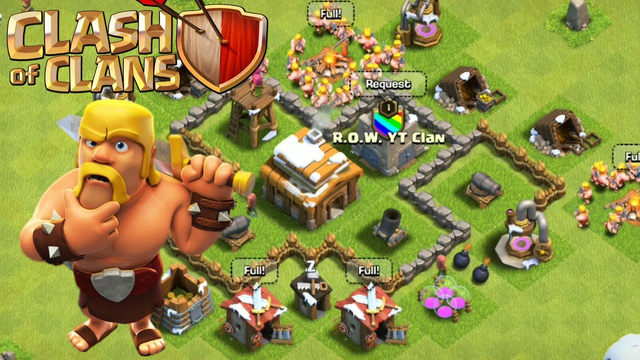 TOWN HALL 3! (CLASH OF CLANS) ep.2