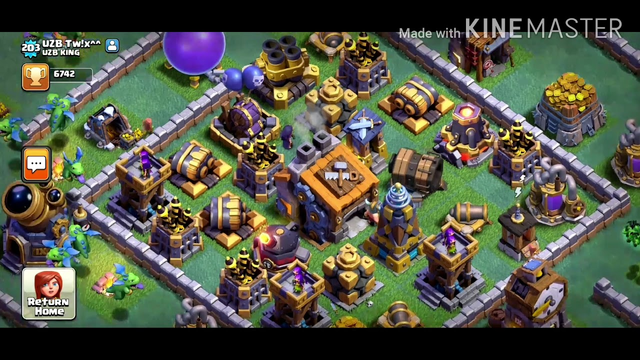 My first clash of clans video