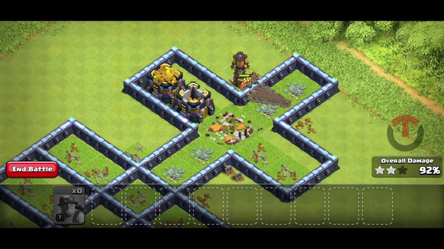 Which Troop is Best For This Incredible Trap On COC   Troops Survival Challenge Part 3   Twist Clash