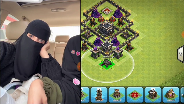 Saudi girl live with game video live | Arabic clash of clans | clash of king