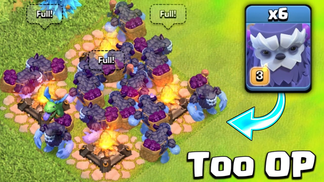 Max Level Yeti Is Too OP In Clash Of Clans - Best Troop In Clash of clans?