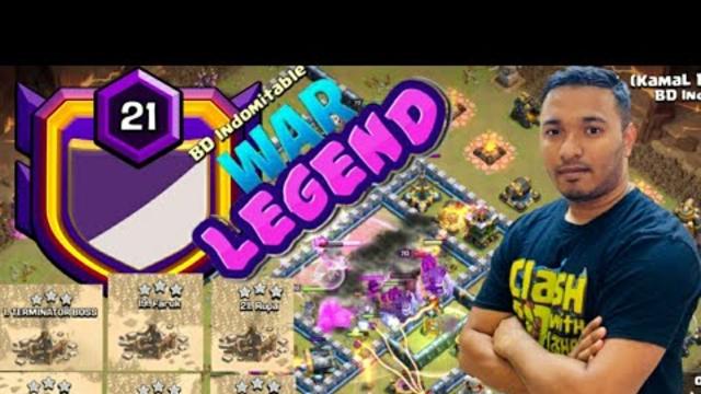 Meet BD Indomitable War Legend!! One Man Army - Most INSANE TH13 War Attack   Clash Of Clans