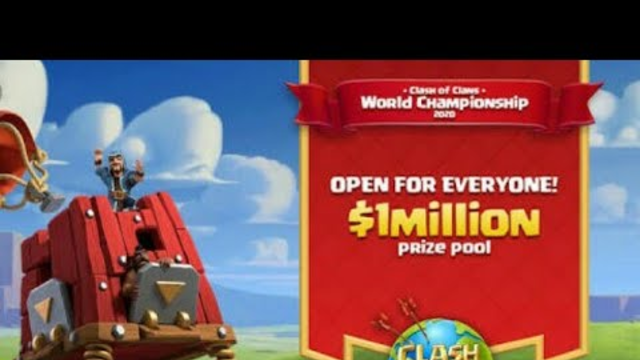 Clash of clans world championship2020/prize pool/how to join/procedure for joining