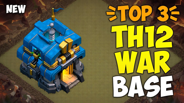TOP 3 TH12 WAR BASE WITH LINK 2020! Anti 2 Star Town Hall 12 Base Links in Clash of Clans