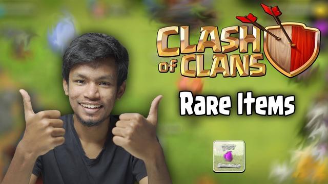 Clash of Clans Rare Items Memories