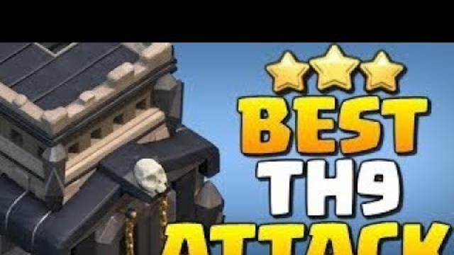 Clash Of Clans - th 9 strategia ataku.