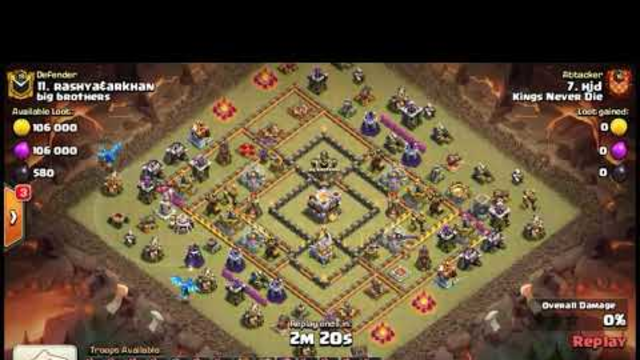 P.E.K.K.A, Bowler + Queen Walk TH11 3 Star Attack Strategy | War Strategy | Clash Of Clans