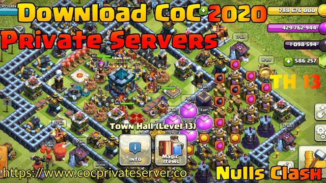 Download Nulls Clash Town Hall 13 (2020): The ultimate Clash of Clans Private Server