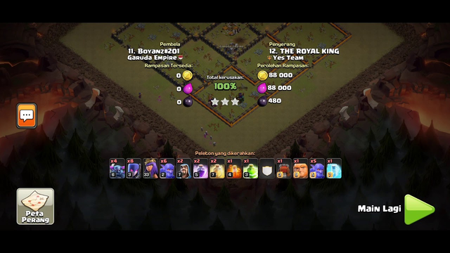 5 Beautifull Attack TH 10 WAR ! Clash of Clans