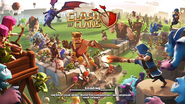 Clash of Clans | TH 6 attack strategy | balloon attach with archers.