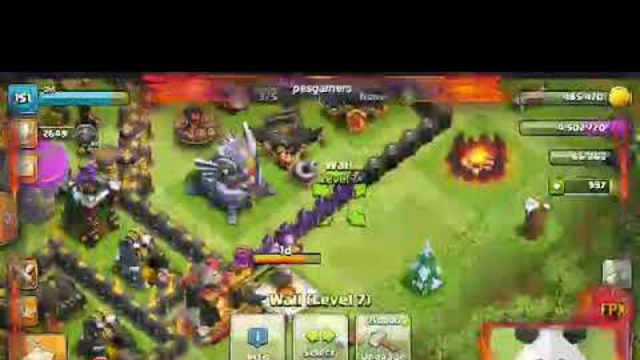 Watch me stream Clash of Clans