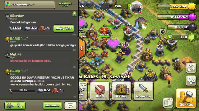 CLASH OF CLANS |TH13 #ClashOfClans #YouTube #Game #Live #COC