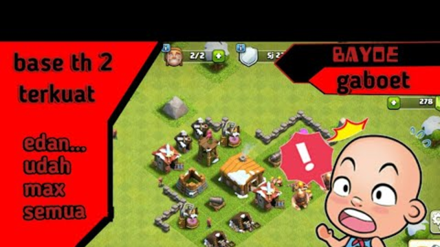 base th 2 terkuat | clash of clans indonesia
