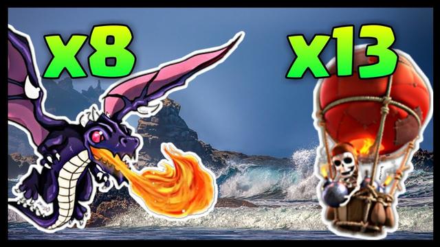 Th8 DragLoon: DragLoon Th8 War Strategy 2020   Clash of Clans