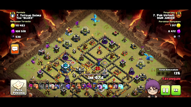 TH12 and Th 13 war attack strategy 3 star 2020  Clash Of Clans