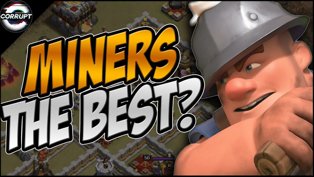 TH11 Miner - BEST TH11 Attack Strategy in Clash of Clans!!