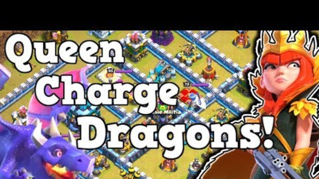 Best TH13 Attack Strategies in Clash of Clans! Powerful TH13 Attack Strategy! QC Dragons!