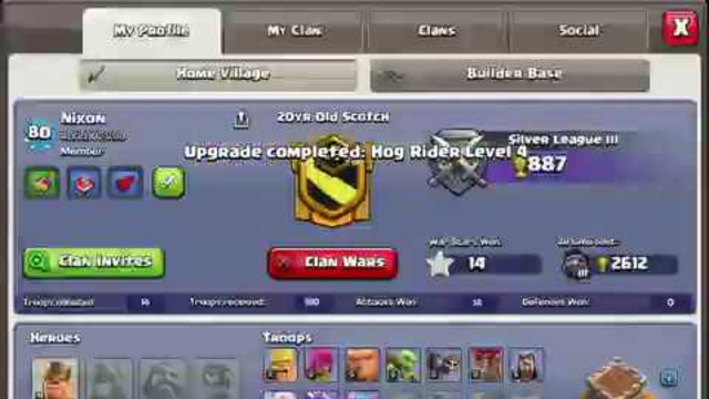A maxed th8 - Clash of Clans