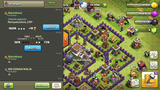 How to get 3Star | Town hall 8 |Clash of clan|COC LOVER
