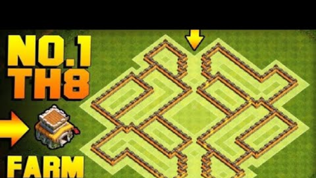 Clash Of Clans - Th8 Farming/Defence base BEST! base for Farming Loot and Trophies || DEADCHIKN