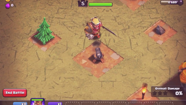 The First Battle - Clash of Clans [Part - 1] [King Battles]
