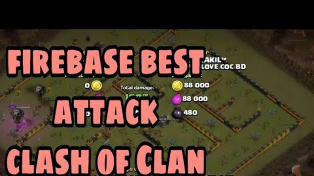 Clash of Clans attack .Very good attack for learning war. My love coc BD Clan.