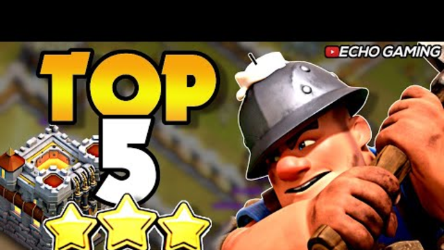Top 5 Best TH11 Attack Strategies Clash of Clans
