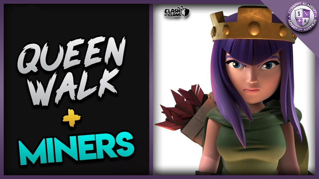 Queen Walk Miners [TH10] Crushes Bases In Clash Of Clans