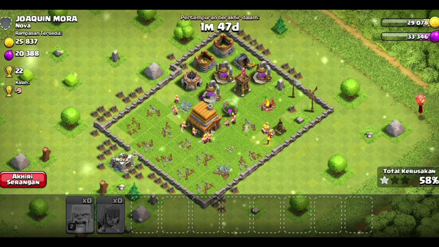 CLASH OF CLANS - Barbarian Archer