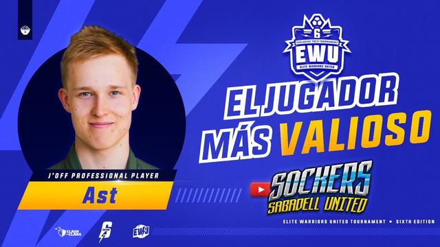 MVP EWU 6ED | JUGADOR MAS VALIOSO : AST | CLASH OF CLANS