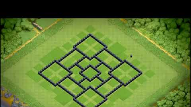 BEST Town Hall 8 TH8 TROPHY Base 2019 with REPLAY!! TH8 Base DesignDefense   Clash of Clans