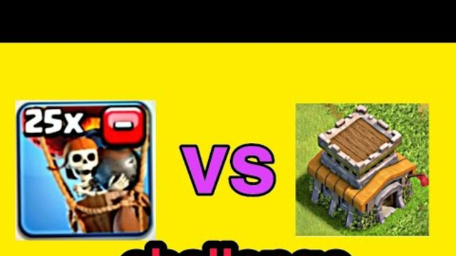 25 balloon versus Town Hall 8 | Clash Of Clans