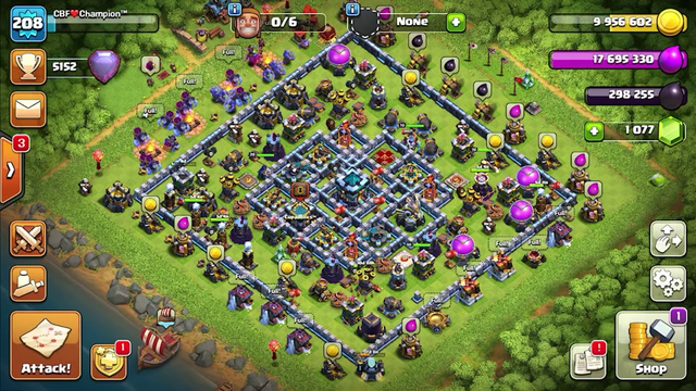 Clash of Clans max accounts for sell